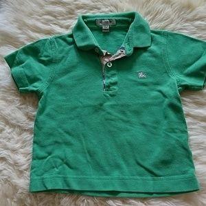 New Burberry polo shirt for boys
